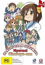 The Melancholy of Haruhi-Chan Suzumiya & Nyoron! Churuya-San 1 - Yuki DVD R4 NEW
