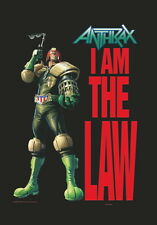 "ANTHRAX FLAGGE / FAHNE ""I AM THE LAW / JUDGE DREAD"""