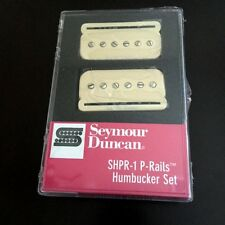 Seymour Duncan P-Rails Humbucker Set Cream 11303-03-cr shpr-1