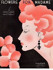 1935 Flowers by Madame for Tobias, Newman and Mencher