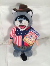 """Grand Ole Opry """"The Butts"""" Raccoon Cowboy 11"""" 24K Special Effects Co. Plush RARE"""
