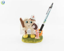 Dental Figurine Decoration Pen and Card Holder Molar Baseball Player Collection