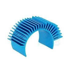 Blue Aluminum 540 550 Motor Heat Sink Heatsink for RC 1/10 Tamiya HSP Car Truck