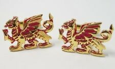 NEW Red & Gold Lucky Dragon Cufflinks  Cuff Links 11416