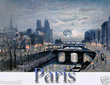 French Painting Reproduction/Paris Poster/Print/17x22 inch