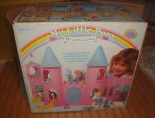 1984 MY LITTLE PONY DREAM CASTLE With Original Box, Spike Figure & accessories