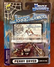 Muscle Machines Jesse James Penny Saved Die Cast Motorcycle Chopper 1: 31 Toy