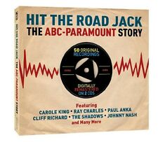 HIT the Road Jack (The Vibes, Johnny Nash, The Shadows,...) 2 CD NUOVO