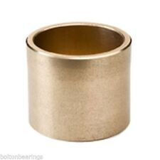AM-081216 8x12x16mm Sintered Bronze Metric Plain Oilite Bearing Bush