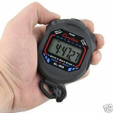 Digital LCD Stopwatch Running Sport Timer Counter Chronograph Stop Watch Alarm