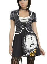 Disney The Nightmare Before Christmas Jack Moon Dress Size Small Halloween NWT!