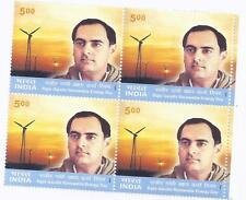 RAJIV GANDHI RENEWABLE ENERGY Day 2004 BLOCK OF 4