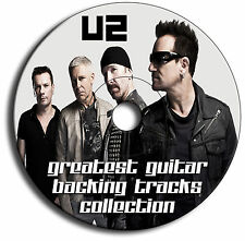 U2 STYLE MP3 ROCK GUITAR BACKING TRACKS CD COLLECTION ANTHOLOGY LIBRARY