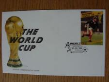 11/07/1986 World Cup Postal Cover: CC 1045 - The World Cup & Trophy - Stamp: Sco