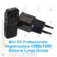Mini Micro DV Telecamera MD80 HD 1280x720p Batteria a Litio + MICRO SD CARD 16GB