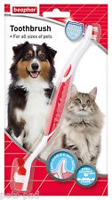 Beaphar Dog Toothbrush, Two ended, For all types & sizes of Dogs.