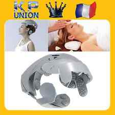 CASQUE ACCUPRESSEUR VIBRATION DETENTE / MASSAGE RELAXATION TETE MULTIPOINTS *48h