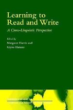 Learning to Read and Write: A Cross-Linguistic Perspective (Cambridge Studies ..