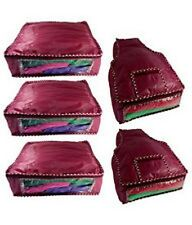 Combo Pack of 3 Box Style Saree Cover & 2 Blouse Cover