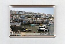 UK Fridge Magnet - Brixham, Devon (2)