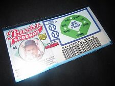 1999 Ohio RARE Sample Lottery Ticket of Gaylord Perry of the Cleveland Indians