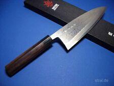 Kanetsune Deba Damaszener 210mm Küchen Messer KC411scharf neu