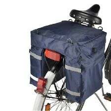 Nylon Fahrradtasche Fahrrad-Gepäcktasche Gepäckträgertasche für Einkäufe und Co.