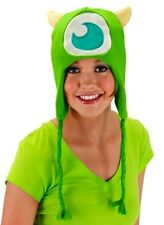 Monsters University MIKE Knit Laplander Hoodie Hat Adult Size Costume Beanie
