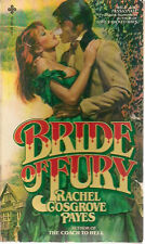 BRIDE OF FURY Jack the Ripper by Rachel Cosgrove Payes (1980) Playboy Press pb