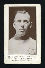1923-24 V145-1 WILLIAM PATERSON ~ #21 ~ LLOYD ANDREWS ~ ROOKIE CARD