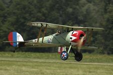 Giant 1/5 Scale French WW-I  Nieuport 28 c1 Biplane Plans and Templates