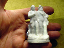 two hunter with deer excavated victorian figurine age 1860 Kister Art. 5440