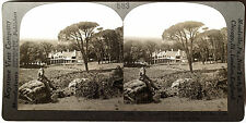 Keystone Stereoview CECIL RHODES Home, Cape Town, AFRICA 1910's Education Set #B