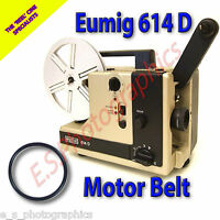 EUMIG 614D 8mm Cine Projector Belt (Main Motor Belt)
