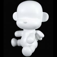 "3.5"" Baby Qee DIY Angel Mon monkey - White Figure Plastic - TOY2R"