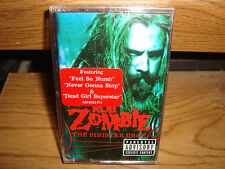 ROB ZOMBIE + THE SINISTER URGE +  USA CASSETTE TAPE  + NEW/SEALED + METAL [PA]