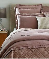 Moderne TRIUMPH by Noble Excellence Full Queen Duvet & Shams Amethyst 3Pc NEW 1Q
