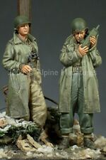 Alpine Miniatures 1:35 WWII US Army Officer 2 Resin Figure Set #35095