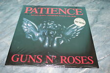 """GUNS N' ROSES PATIENCE GERMAN ONLY LIMITED 12"""" (WITH TATTOO -SEALED)"""