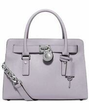 Michael Kors Hamilton Saffiano Leather East West EW Satchel (Lilac)
