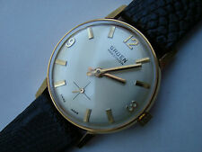 VINTAGE 1960S GRUEN PRECISION MIDSIZE 17 JEWELS GOLD SWISS WATCH NEVER WORN #3