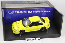 AUTOart 1:18 Subaru Impreza WRX Type R GC8 (Yellow) *MEGA RARE, Retired*