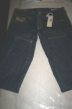 NWT! $299 DieseL GRUPEE ZIP super slim skinny low waist jeans blue 29x28