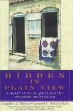 HIDDEN IN PLAIN VIEW....SECRET STORY OF QUILTS & THE UNDERGROUND RAILROAD