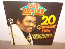 * Fats Domino . 20 Greatest Hits . Blueberry Hill . German Pressing . LP