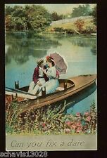 Can You Fix a Date Romantic Handyman Love Fixer Upper Old Vintage Postcard 289
