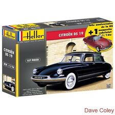 Nuevo Heller 1:16th Citroen DS 19 60th aniversario Modelo Kit Con Bonus Cabrio