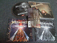 MEGADETH / end game /JAPAN LTD CD OBI