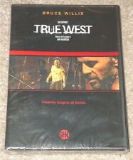 TRUE WEST w/ BRUCE WILLIS ~ RARE 2003 DVD ~ SEALED - DAVID MAMET PLAY, SHOWTIME