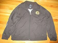 Charles River Apparel BOSTON BRUINS Zippered (MED) Jacket with Bruins Patch